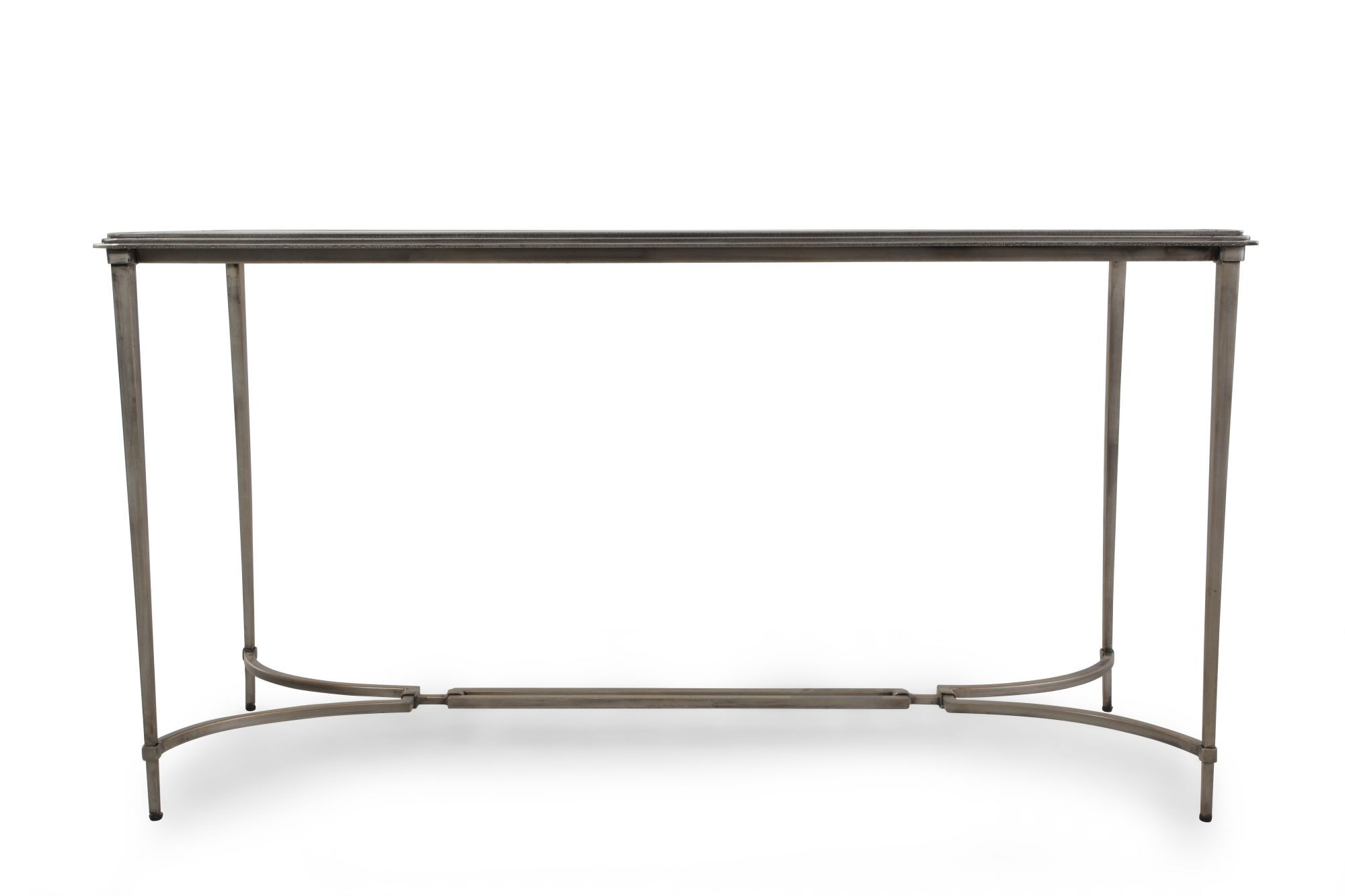 gl sofa tables contemporary best way to clean fabric glass top console table in silver mathis