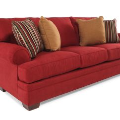Broyhill Landon Sofa Arizona Leather Prices Traditional 89 Quot In Red Mathis Brothers Furniture
