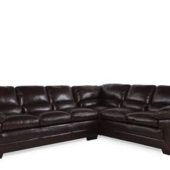 Tindall 96 Leather Sofa Gus Modern Wayfair Two Piece Quot Sectional In Walnut Mathis Brothers