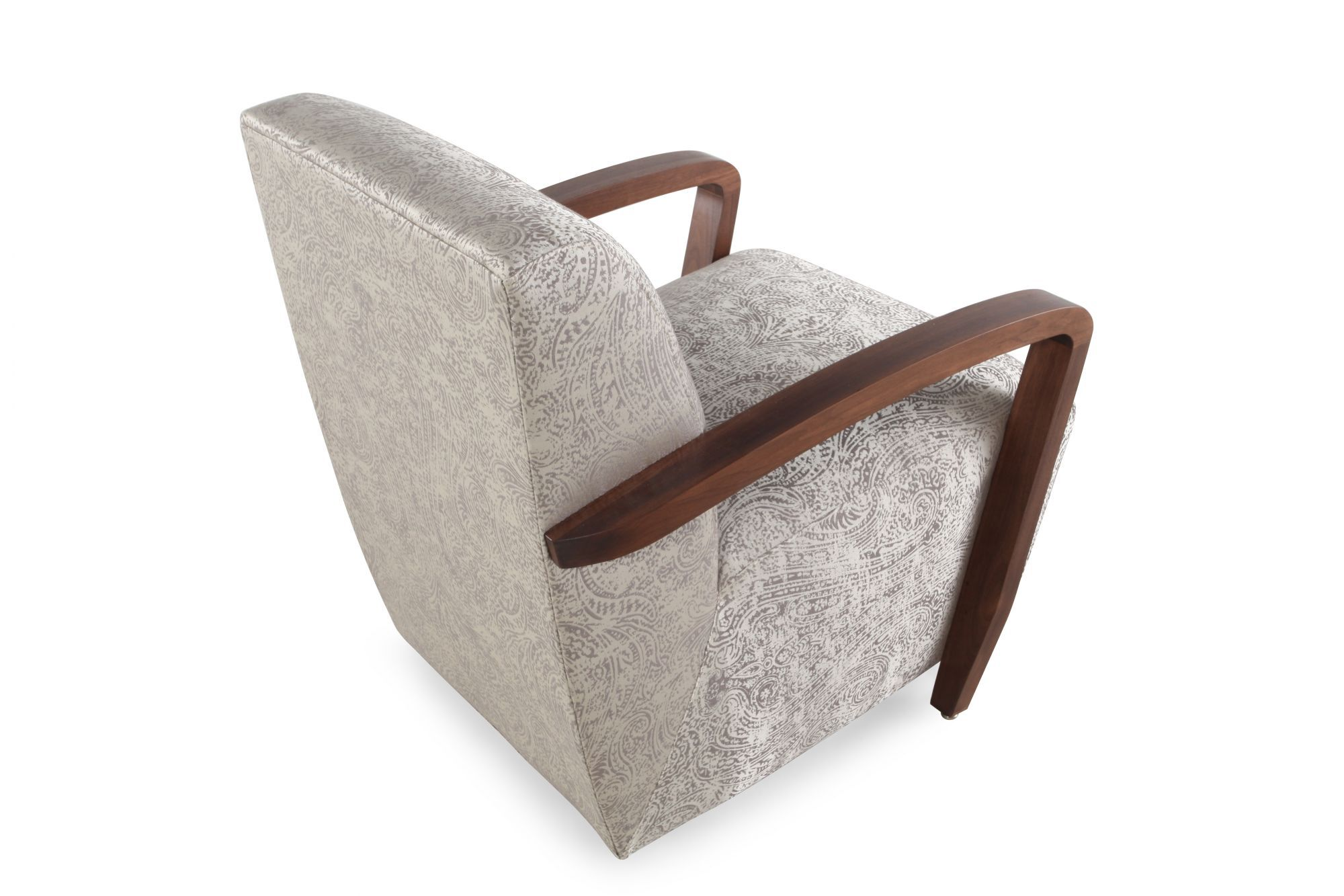 silver accent chair folding under $10 paisley patterned contemporary 22 quot in