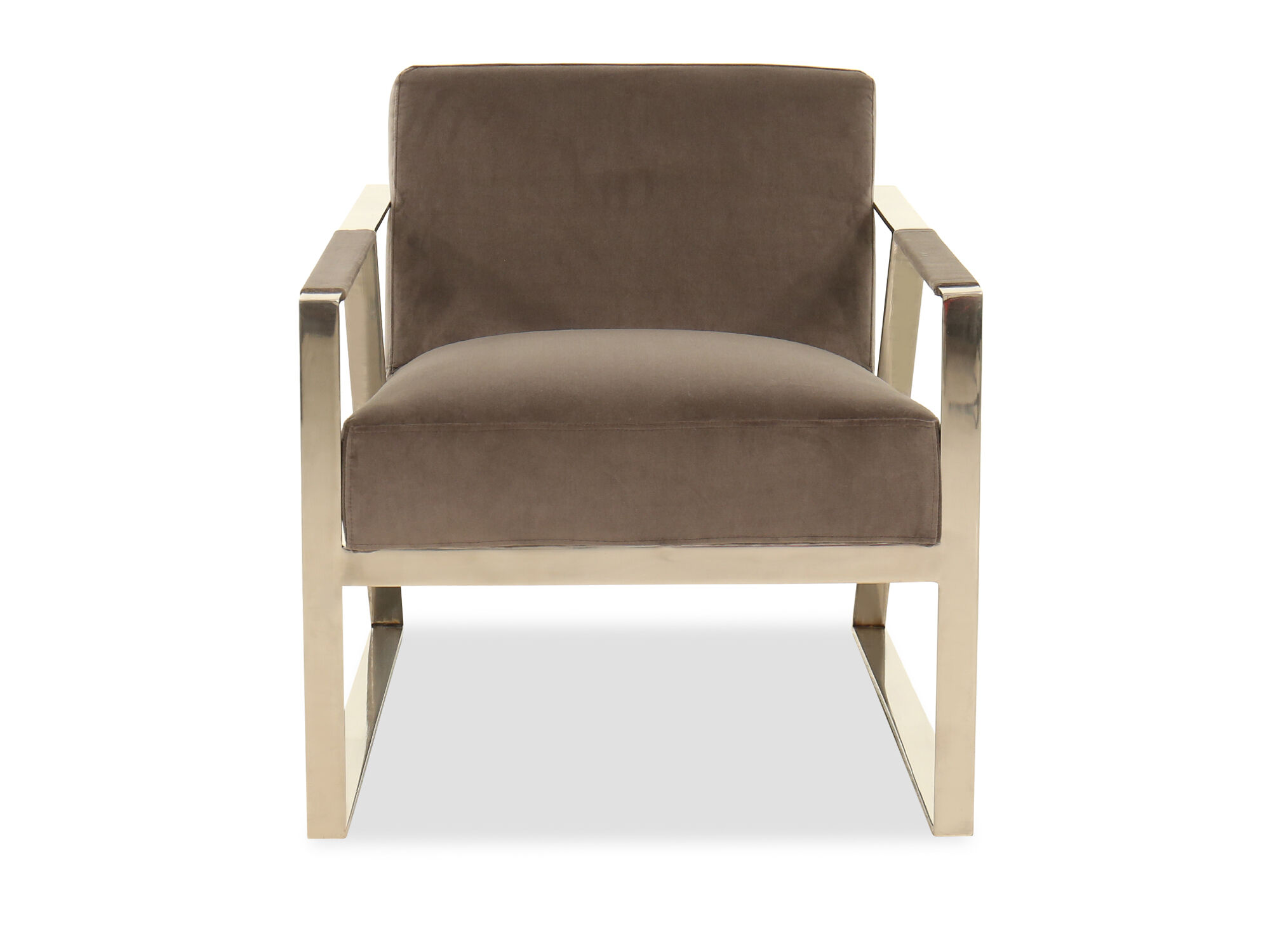 LowProfile Lounge Chair in Gray  Mathis Brothers Furniture
