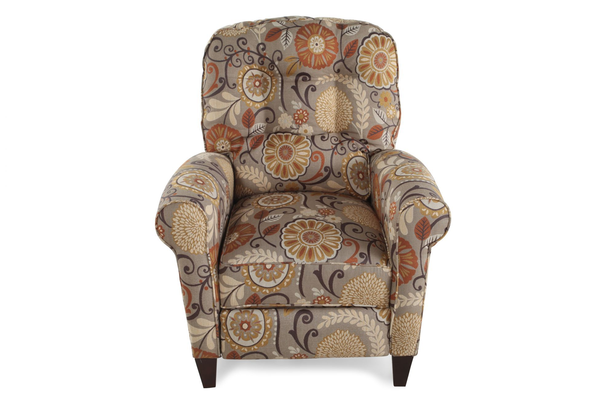 FloralPatterned 33 Wall Saver Recliner  Mathis Brothers