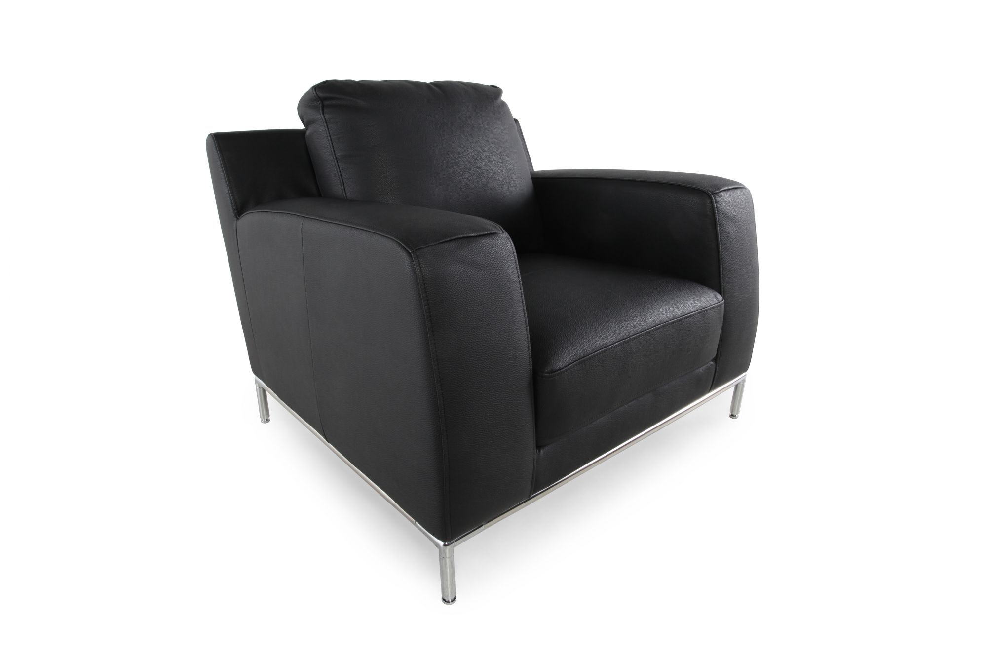 LowProfile Contemporary 40 Chair in Ebony Black  Mathis