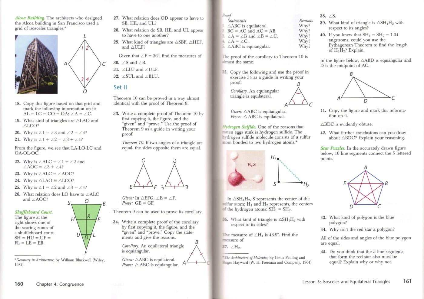 High School Geometry Textbook Reviews