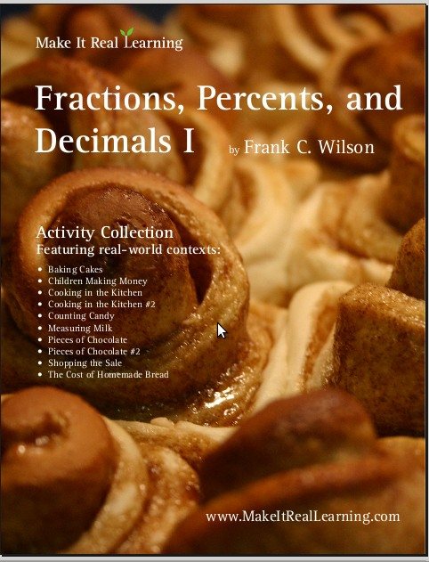 Fractions Decimals Percents I Workbook For Grades 4 8 Make It