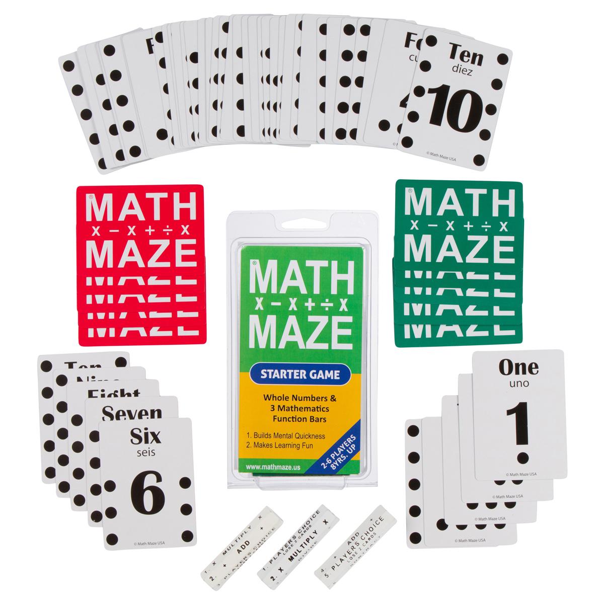 Math Maze Starter Game