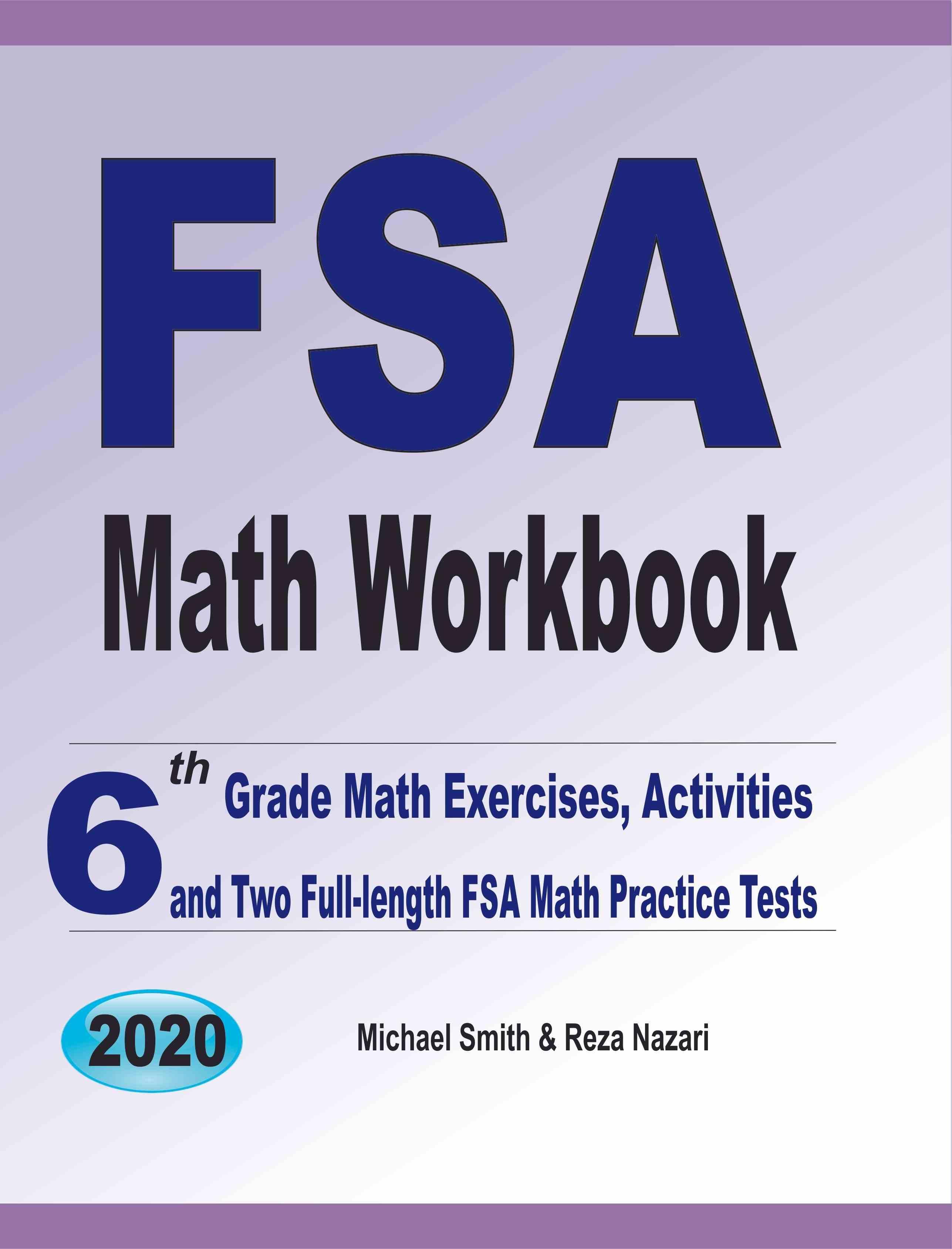 FSA Math Workbook: 6th Grade Math Exercises, Activities ...