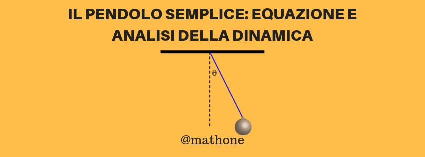 Pendolo semplice