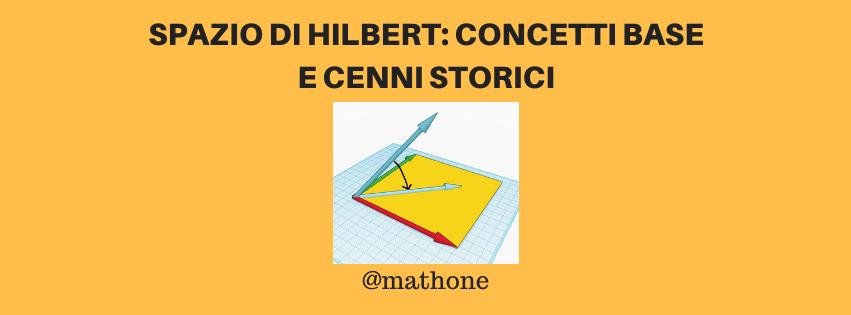 Spazio di Hilbert