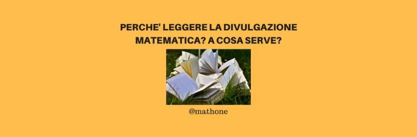 divulgazione matematica