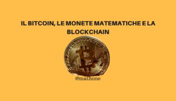 Bitcoin e matematica