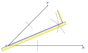 Printable Instructions For Bisecting An Angle With Compass