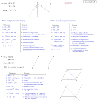 Geometry Proofs Worksheets With Answers