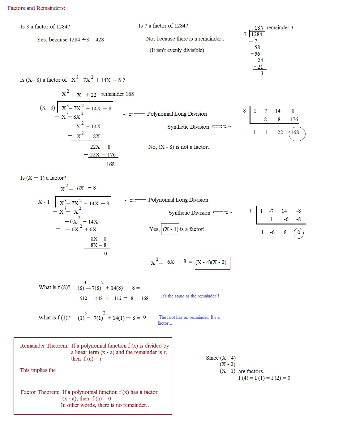 Worksheet On Introduction To Polynomials