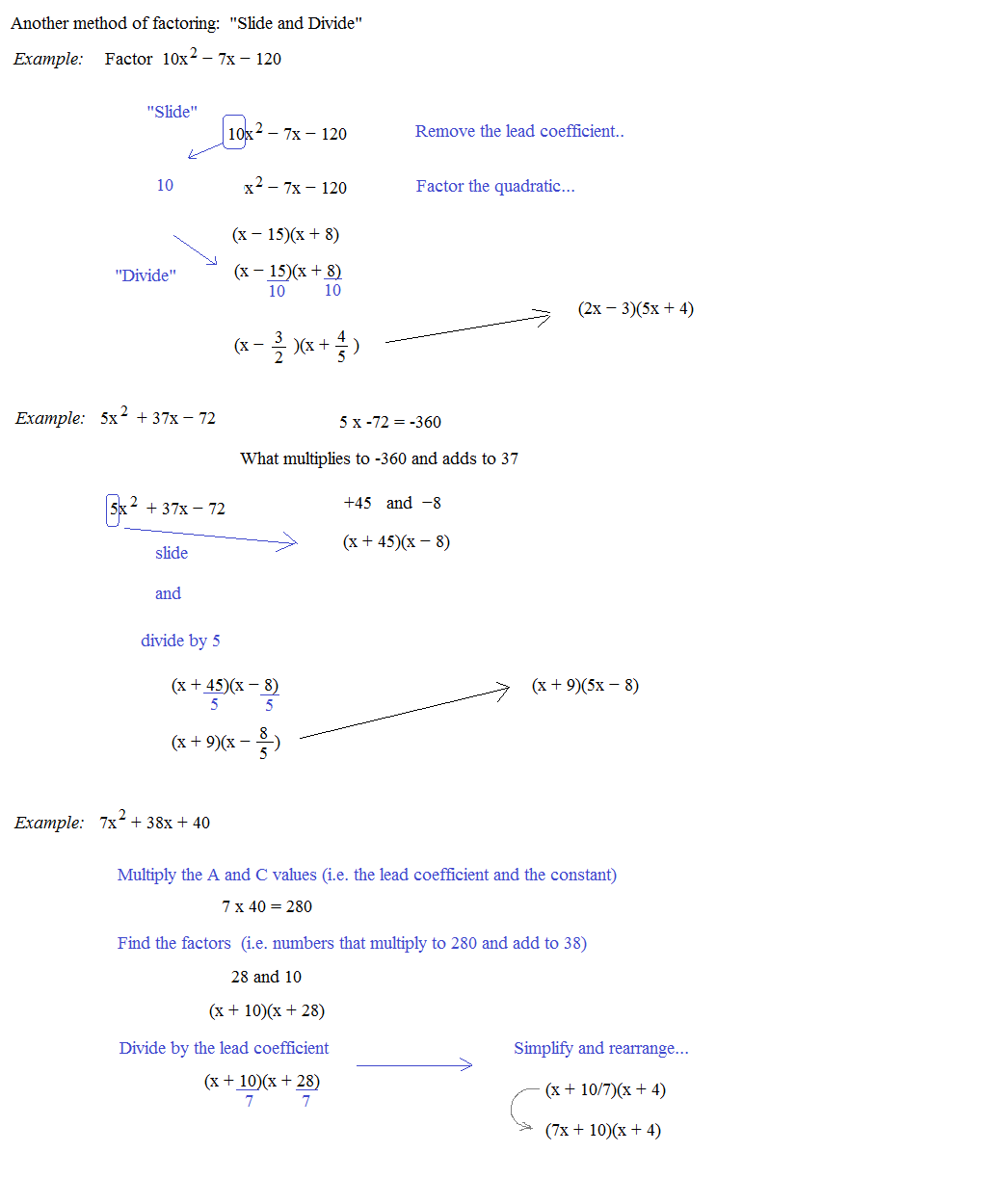 Solutions Of Quadratic Equations Worksheet