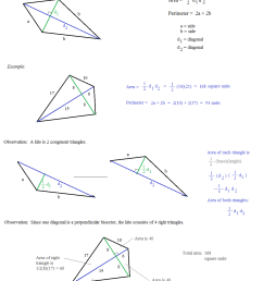 Math Plane - Area and Perimeter of Polygons 1 [ 1313 x 1053 Pixel ]