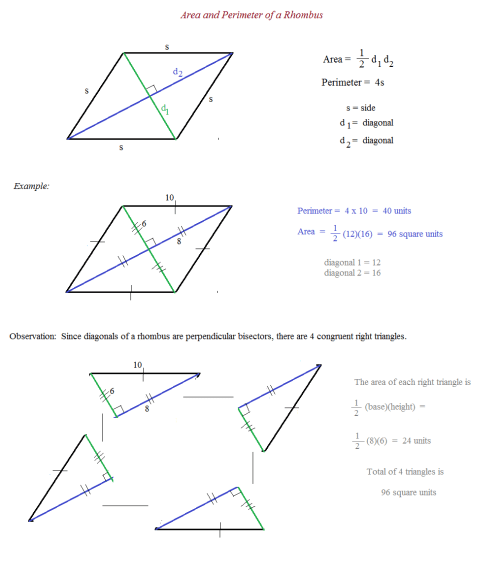 small resolution of 35 Area Of Rhombus Worksheet - Worksheet Project List