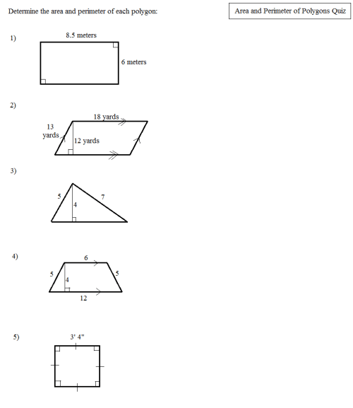 small resolution of 32 Perimeter Of Polygons Worksheet - Worksheet Resource Plans