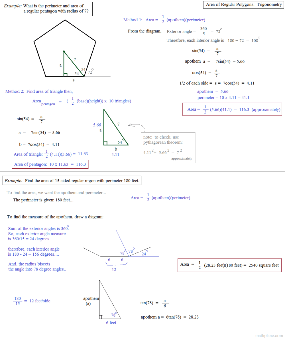 medium resolution of 32 Geometry Area Of Regular Polygons Worksheet - Free Worksheet Spreadsheet