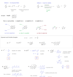 Math Plane - Simplifying Negative Exponents and Variables [ 1434 x 1203 Pixel ]