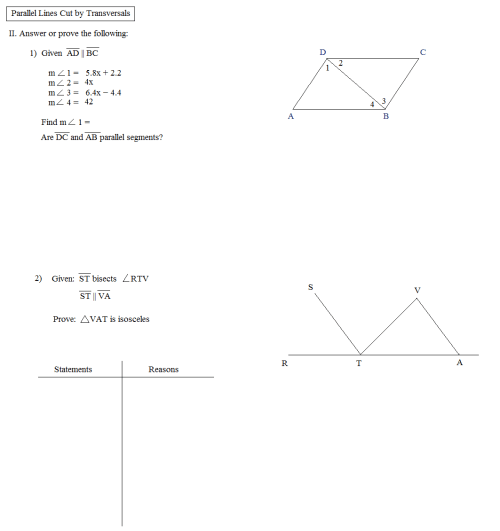 small resolution of Corresponding Angles Worksheets   Printable Worksheets and Activities for  Teachers
