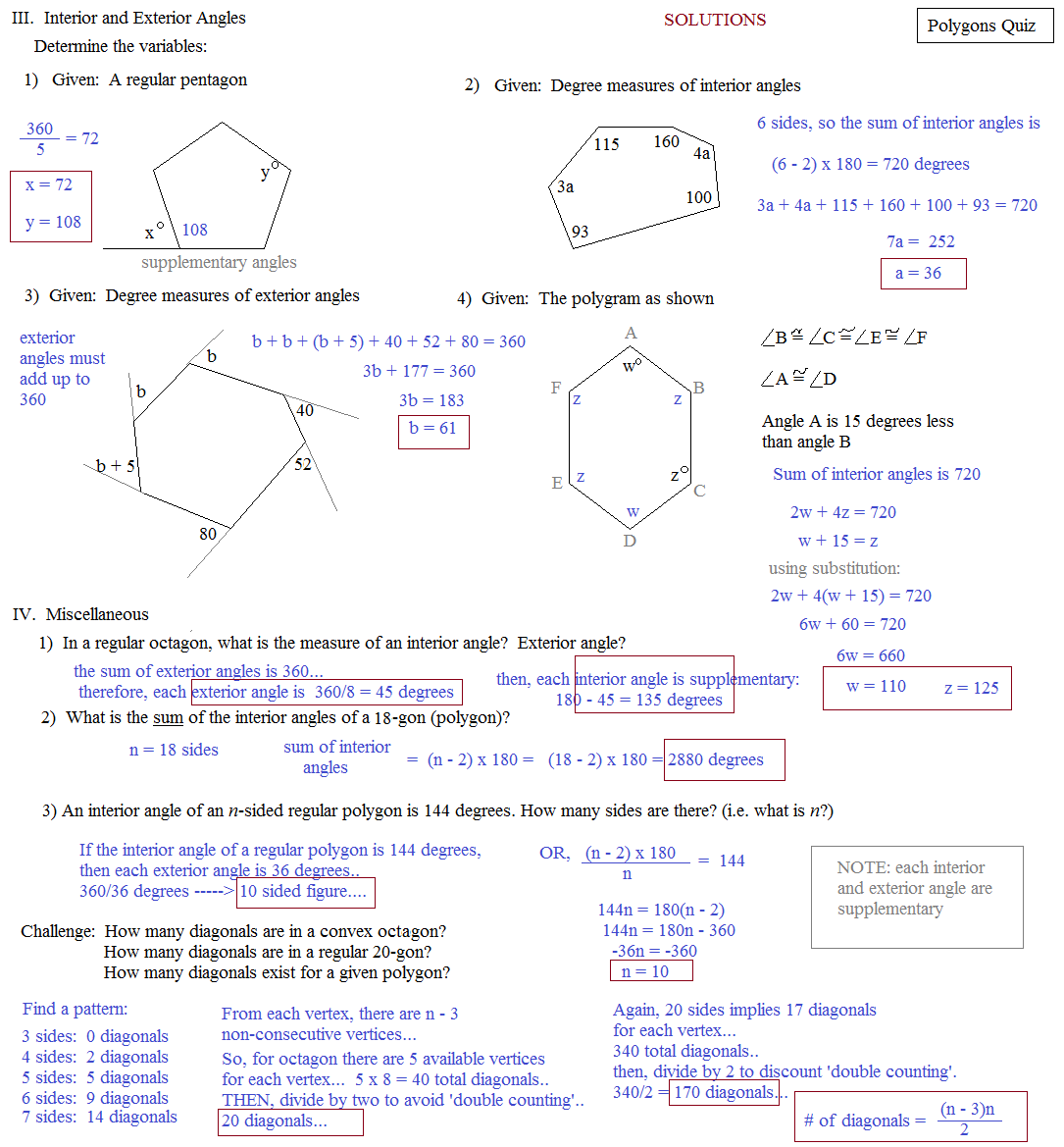 Hexagon Octagon Pentagon Worksheet