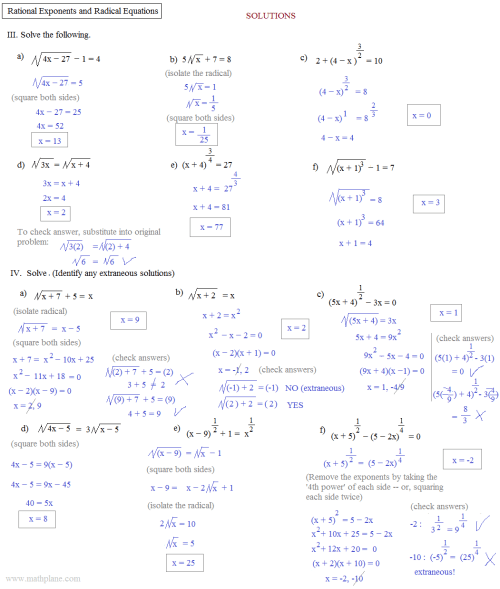 small resolution of 34 Radicals And Rational Exponents Worksheet - Worksheet Resource Plans