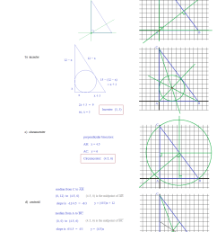 Coordinate Geometry Straight Line Worksheets   Printable Worksheets and  Activities for Teachers [ 1694 x 1276 Pixel ]