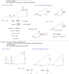 Basic Trigonometry Worksheets   Printable Worksheets and Activities for  Teachers [ 1360 x 1108 Pixel ]