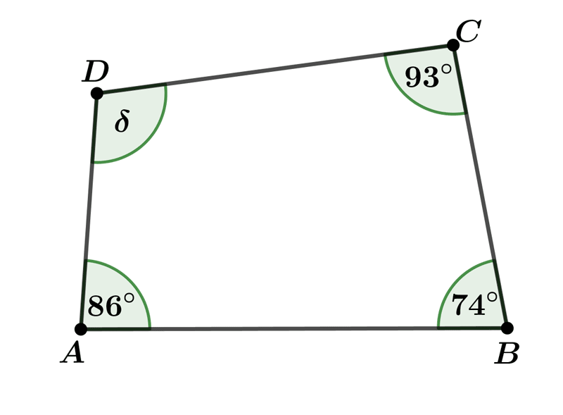Quadrilateral angles