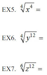 Radicals and Rational Exponents