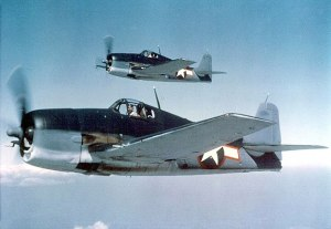 Figure 1: F6F Hellcat had the highest kill ratio of any US fighter in the Pacific War.