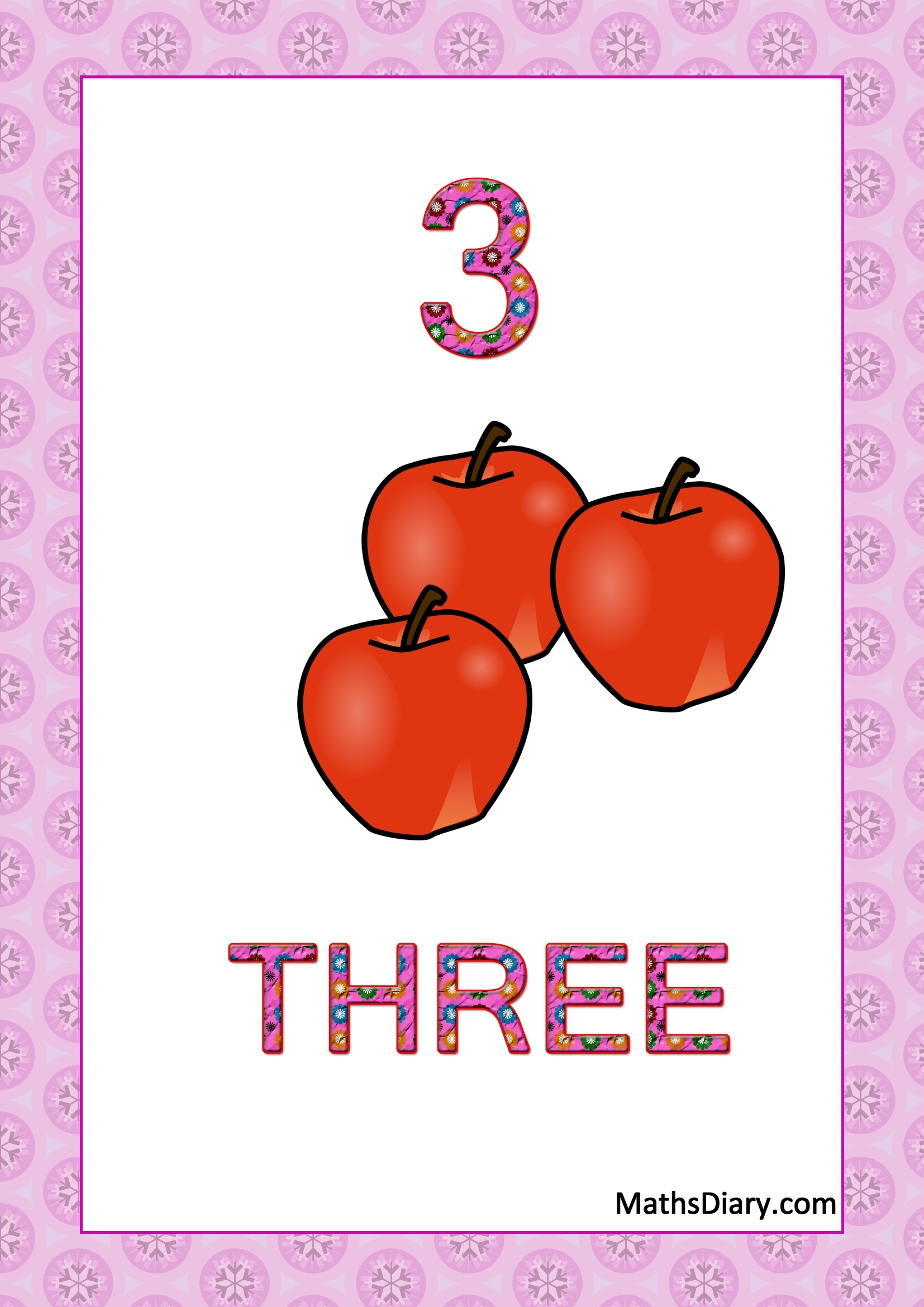 Counting Nursery Math Worksheets