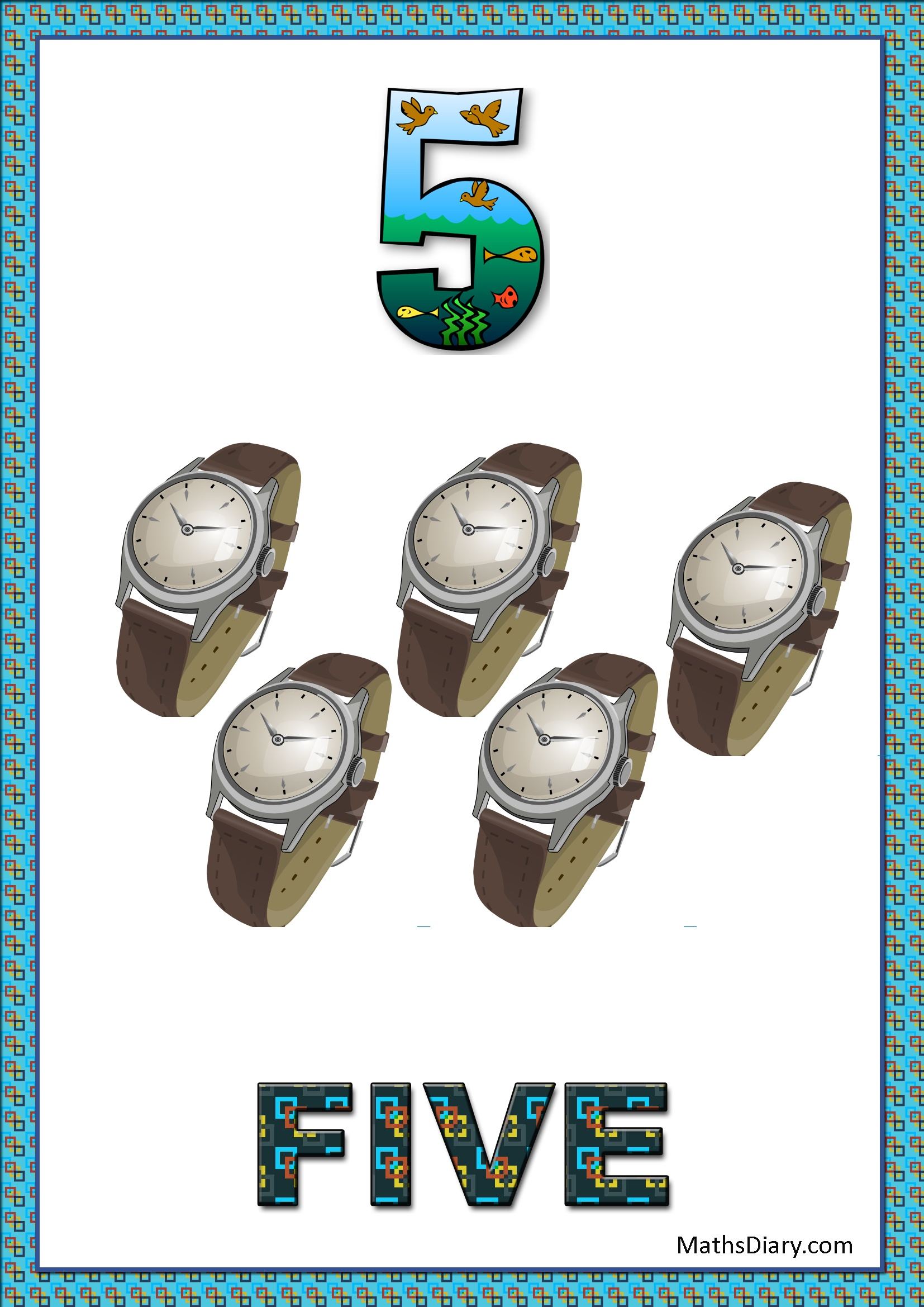 Counting Of 5 Worksheets Level 1 Help Sheets Part 4