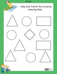 Shapes Ukg Math Worksheets. Shapes. Best Free Printable ...