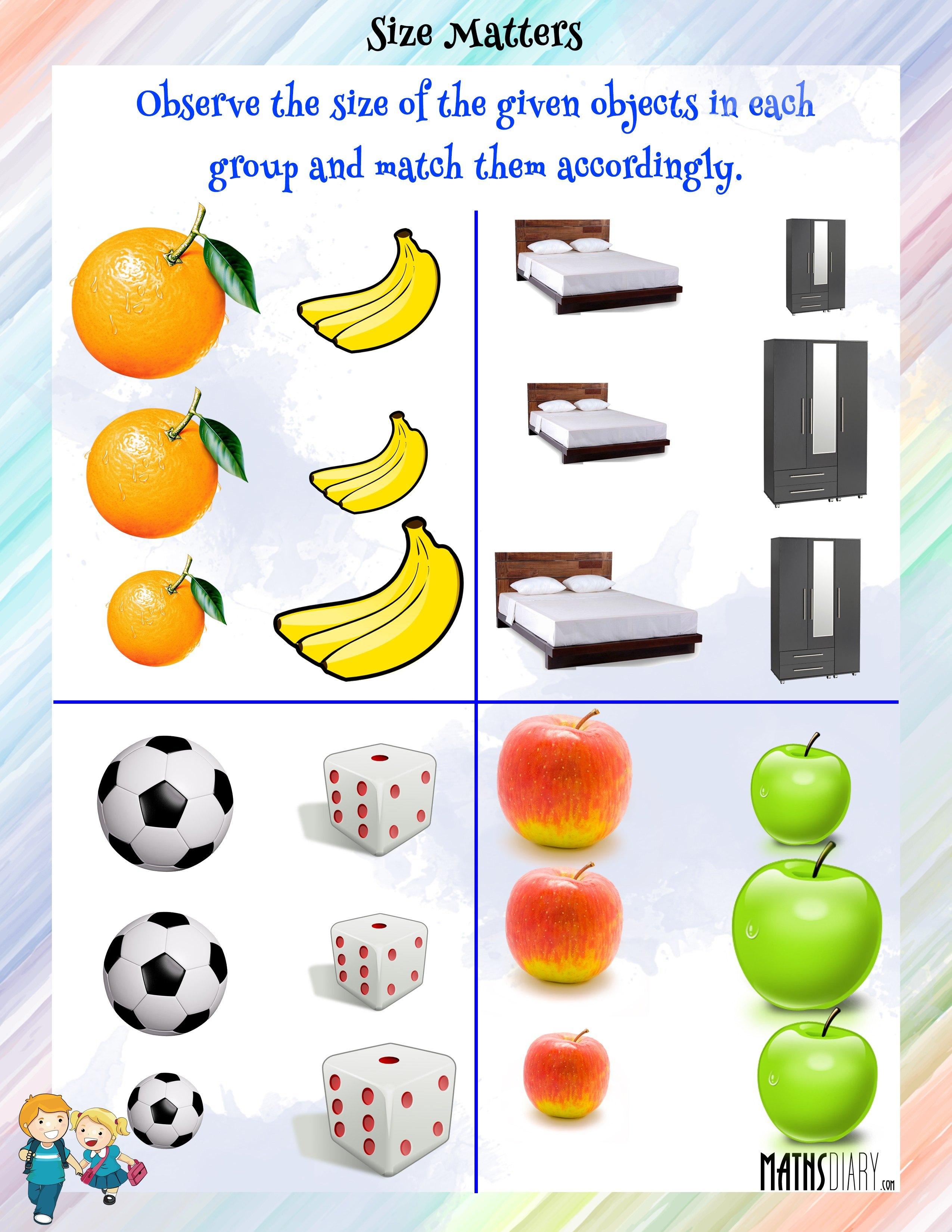 Practical Maths Lkg Math Worksheets