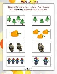 LKG Math Worksheets - Page 8