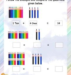 Abacus – Grade 1 Math Worksheets [ 3300 x 2550 Pixel ]