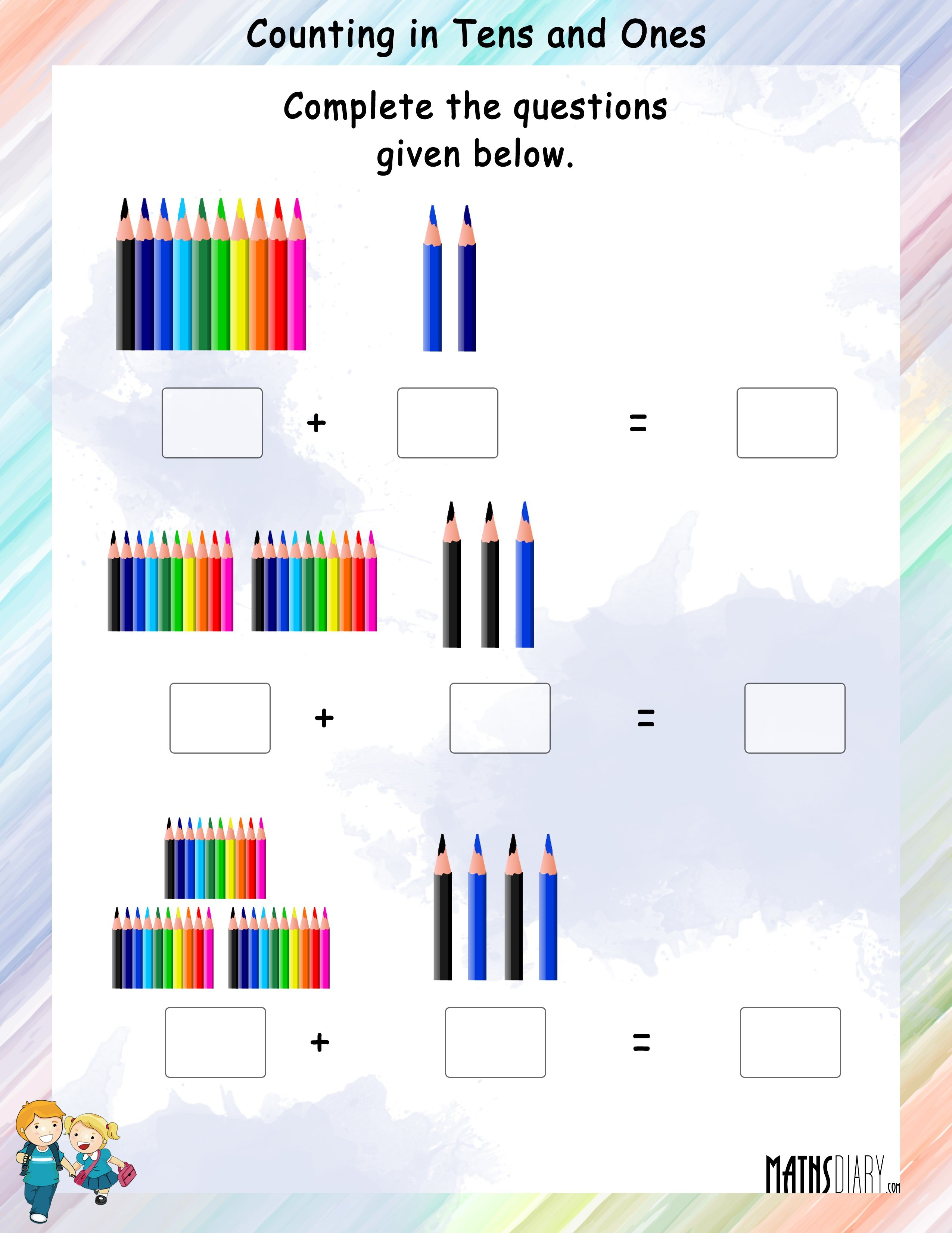 Abacus Grade 1 Math Worksheets
