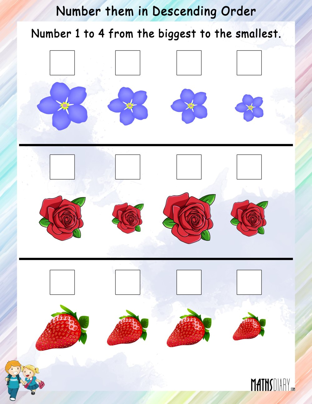 medium resolution of Ascending Order Worksheet Preschool   Printable Worksheets and Activities  for Teachers