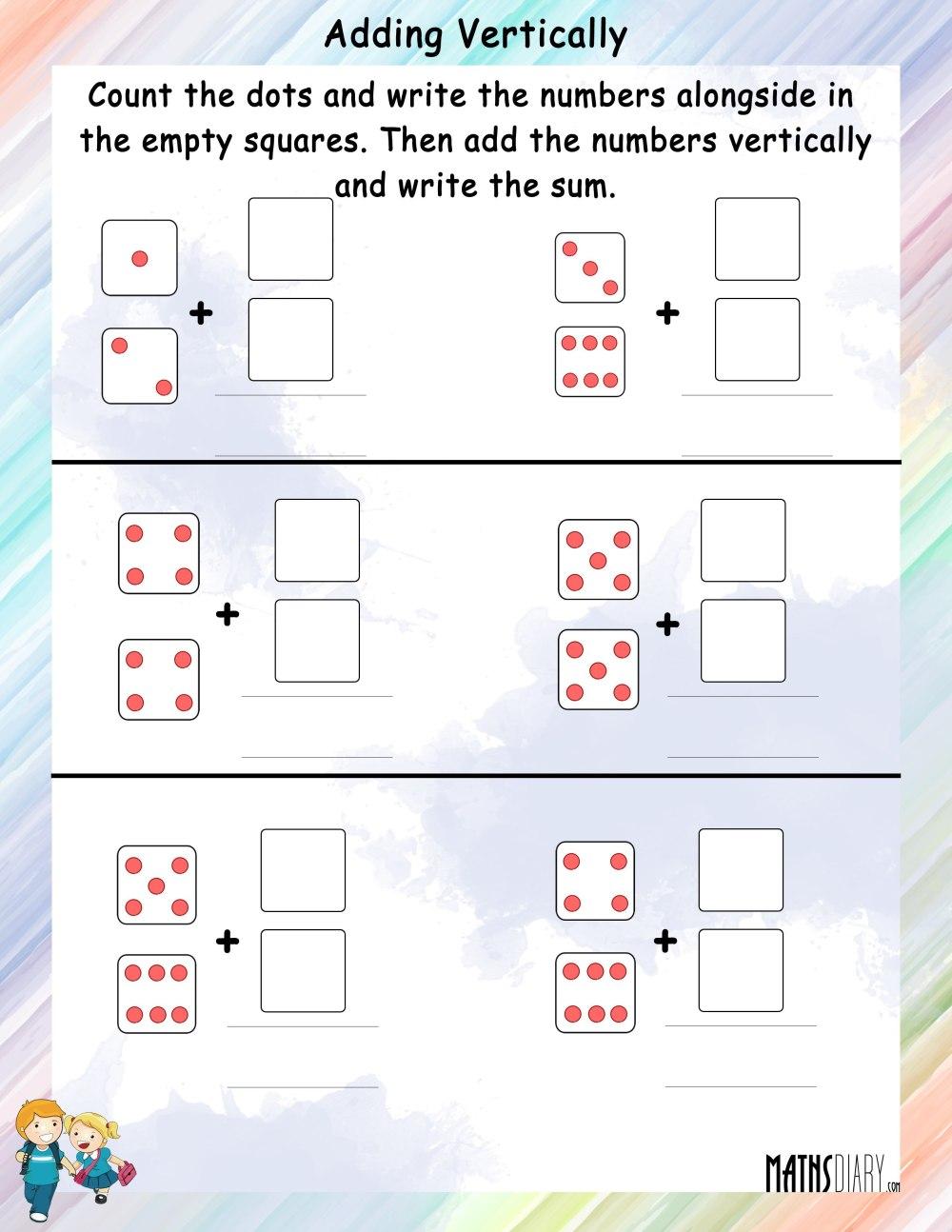 medium resolution of Grade 1 Math Worksheets - Page 2
