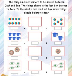 Mental Maths – Grade 1 Math Worksheets - Page 12 [ 3300 x 2550 Pixel ]