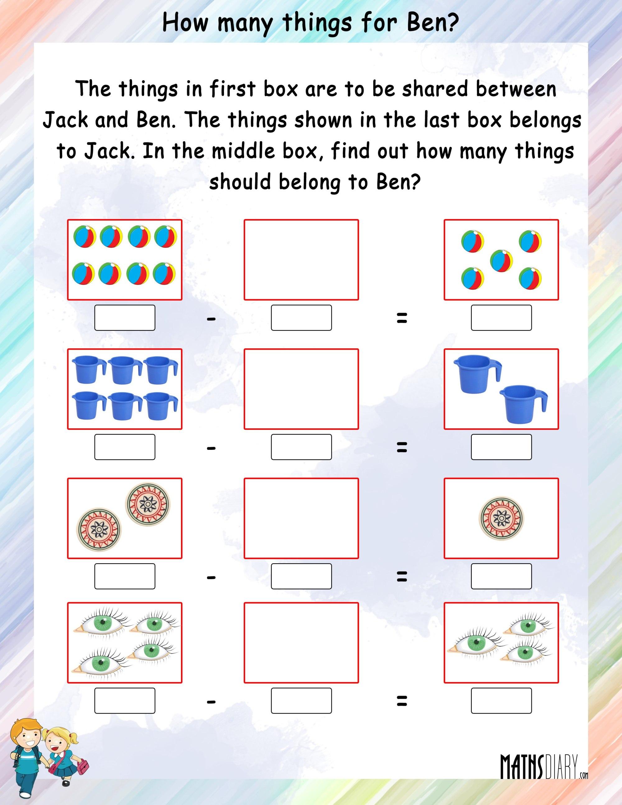 hight resolution of Mental Maths – Grade 1 Math Worksheets - Page 12