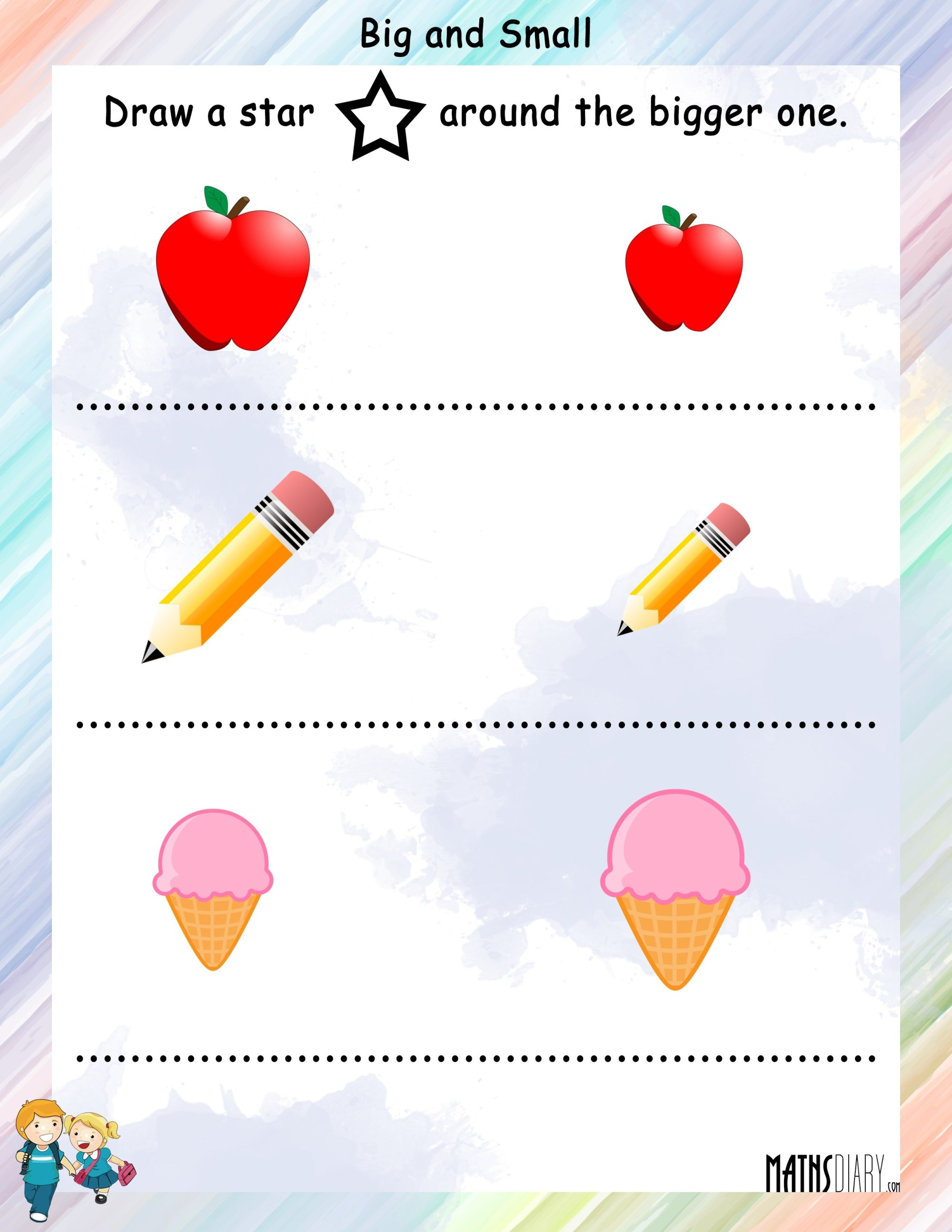 hight resolution of Measurement – Grade 1 Math Worksheets