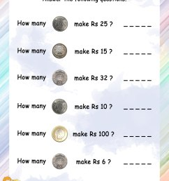 Canadian Money Worksheets For Grade 1   Printable Worksheets and Activities  for Teachers [ 3300 x 2550 Pixel ]
