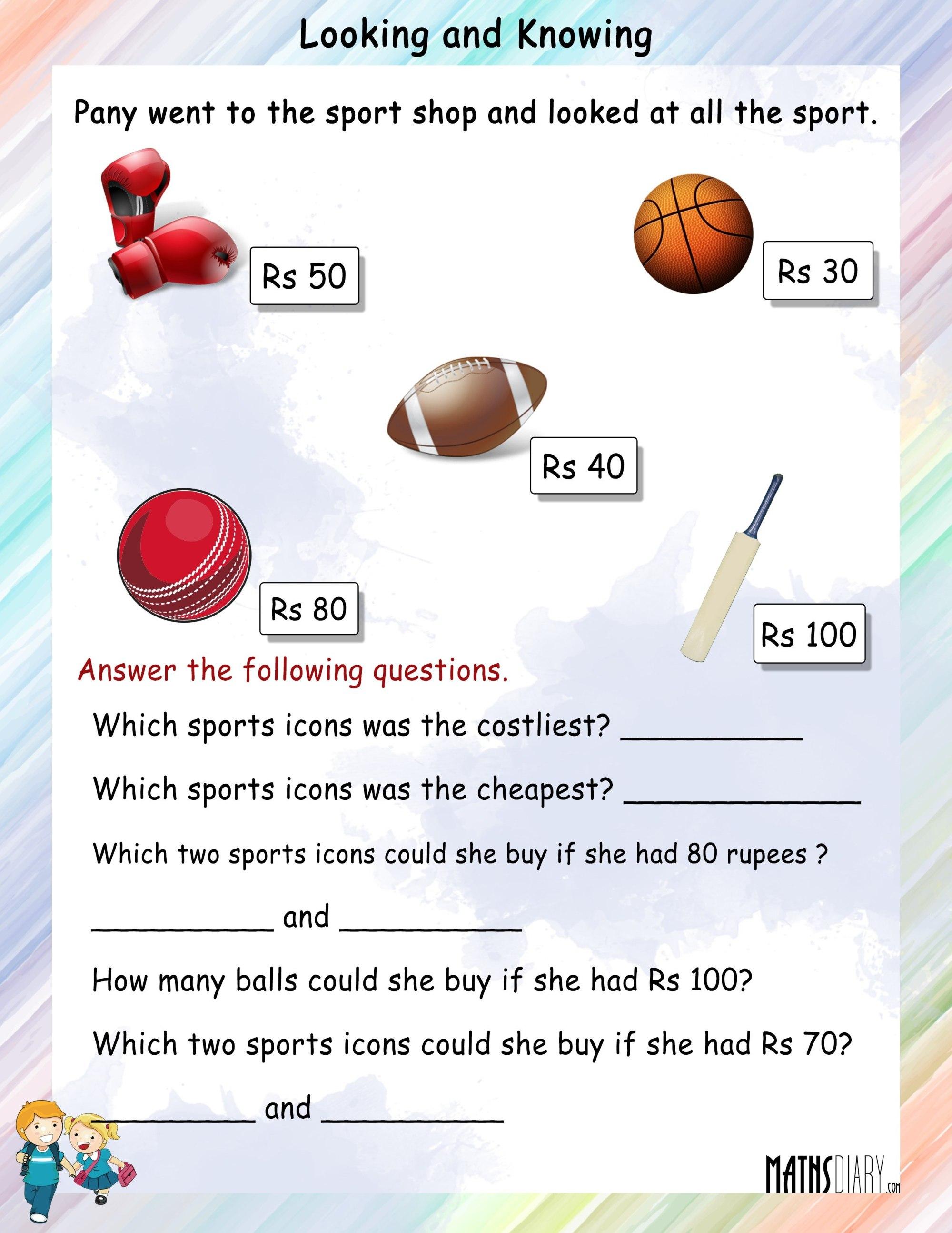hight resolution of Data Handling - Math Worksheets - MathsDiary.com