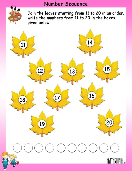 small resolution of Grade 1 Math Worksheets - Page 14