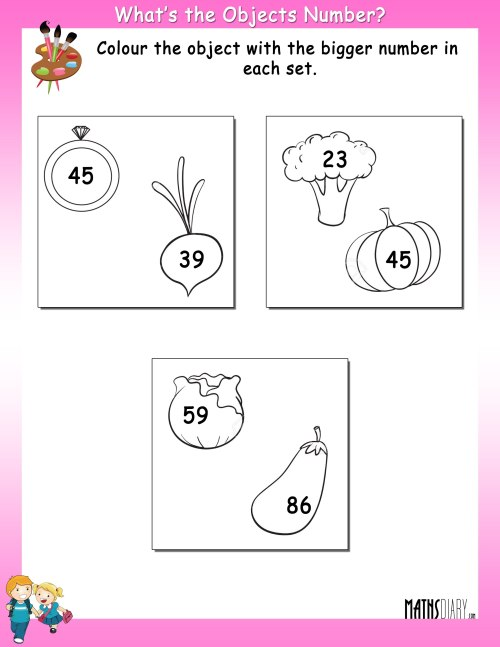 small resolution of Colouring Worksheets – LKG Math Worksheets