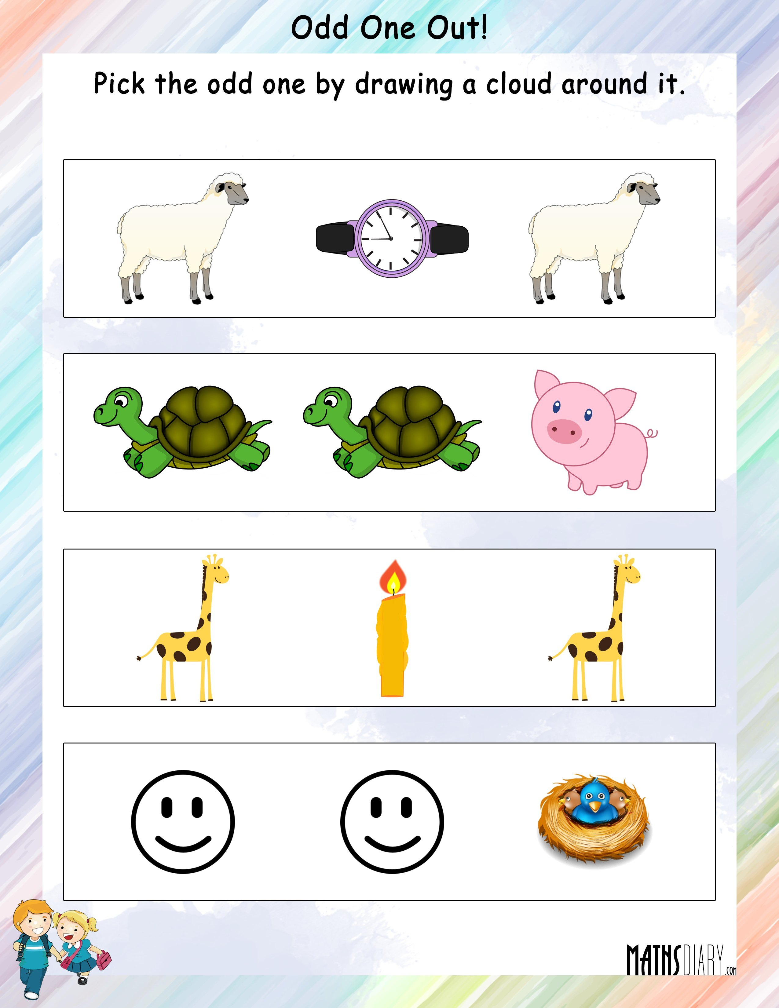 Ascending And Descending Order Worksheets Images