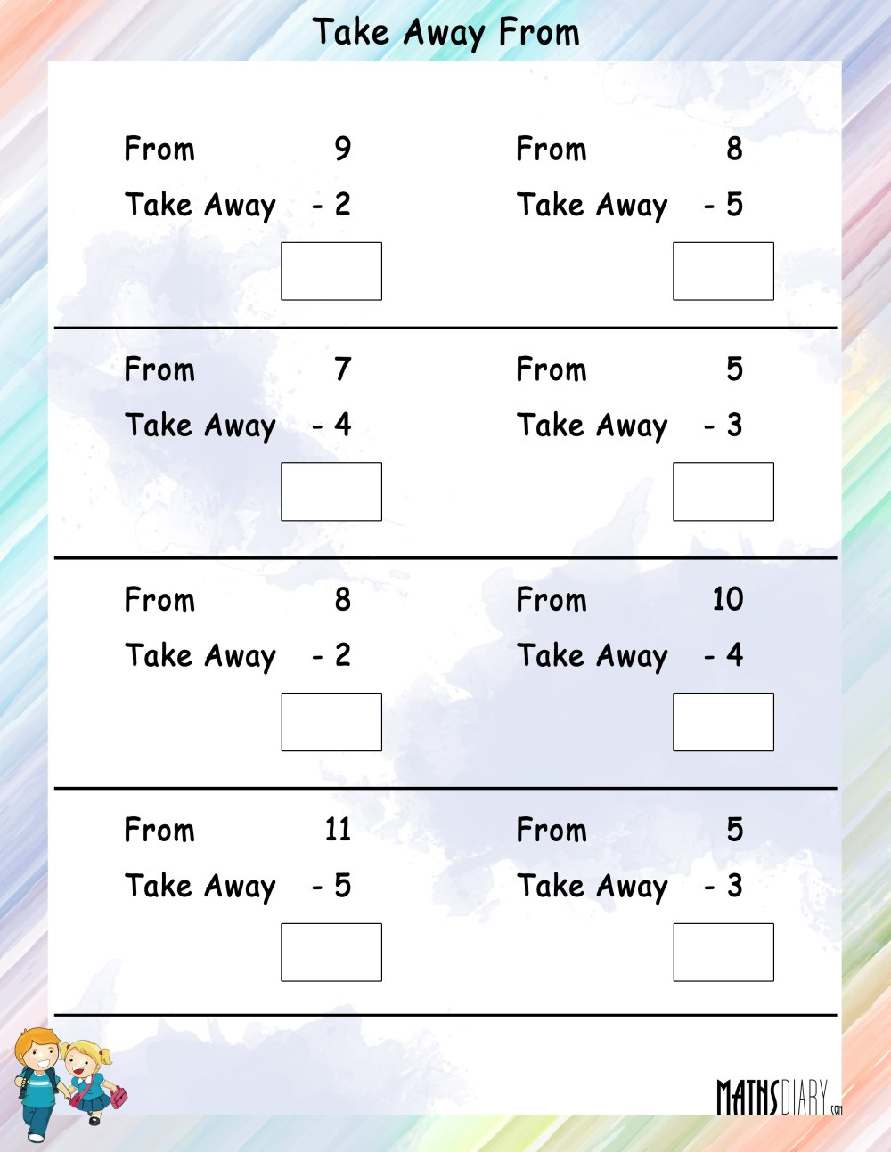 medium resolution of 2 Grade Subtraction Worksheet   Printable Worksheets and Activities for  Teachers